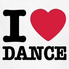Point, blank, period! We LOVE #dance.