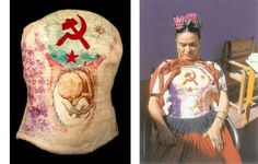 Frida Kahlo plaster corset