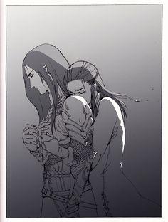 """""""Не ходи, прошу тебя!""""  Элрос пытается удержать Маглора от похода за сильмариллами --- GT tells me this is Elros begging Maglor to not continue to go after Silmarils. Sadness. :("""