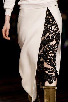 Peekaboo skirt
