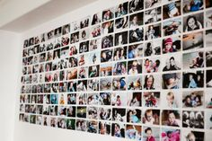 Unique (and awesome) way to display family photos. http://lindsayrossblog.com/2014/02/uniquely-awesome-photo-display/