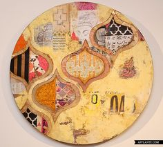 Fascinating Layered Artworks // Jill Ricchi | Afflante.com