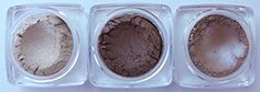Grace My Face Minerals Glamour Eye Shadow, Soft Brown Trio -- To view further, visit