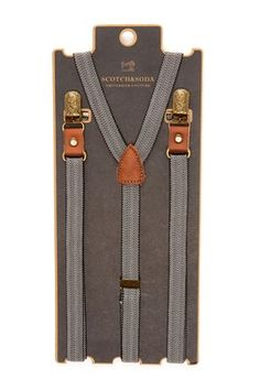Scotch & Soda: Fancy Suspender