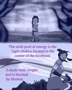 """""""There are seven chakras that go up the body. Each pool of energy has a purpose, and can be blocked by a specific kind of emotional muck. Be warned…opening the chakras is an intense experience, and once you begin the process, you cannot stop until all seven are open."""""""