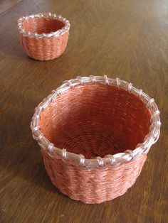 baling twine basket: I must figure out how to do this!