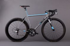 I would live this bike. Titanium with Sram force gearing.