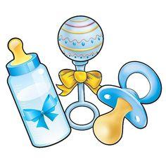 Dibujos Baby Shower, Imprimibles Baby Shower, Baby Shower Clipart, Clipart Baby, Scrapbook Bebe, Baby Boy Scrapbook, Theme Mickey, Baby Mickey, Baby Clip Art