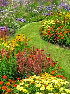Flower Garden - I think I found my inspiration for the front yard!