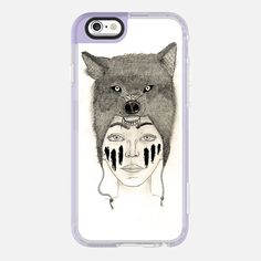 Whoa. Check out this design on Casetify! #phonecase #wolf #animal #warrior #illustration #draw #drawing #dessin #guerrière #loup #creative #art #artist #dessin #crayon