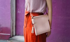 Handmade leather bags by Mellmo ,tanned leather