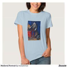 Medieval Portrait T Shirt #Medieval #Portrait #Historical #Art #England #Shirt #Tshirt #Tee #Fashion