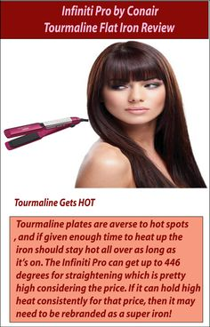 Infiniti Pro by Conair Tourmaline Flat Iron is one of the leading iron on the market. It could be the answer to all kinds of wavy hair issues. Find the best one.