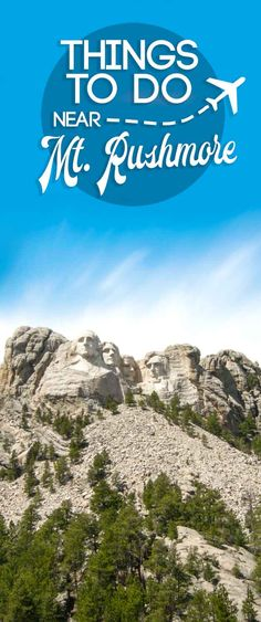 Top 10 Things To Do Near Mount Rushmore Don't make the mistake of only visiting Mount Rushmore in South Dakota (USA). There are a ton of things to do near Mount Rushmore, our top 10 all less than 90 minutes via Getting Stamped South Dakota Vacation, South Dakota Travel, South America Travel, North Dakota, North America, Keystone South Dakota, Rapid City South Dakota, America City, Places To Travel