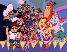 Galaxy High School cartoon.  You might not of heard of it but it was part of the 1980's cartoon run.
