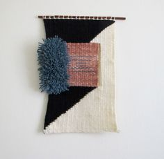 Woven Wall Hanging 04 by CrepesForBreakfast on Etsy
