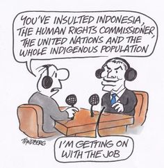 I'm getting on with the job Ron Tandberg cartoon via @theage #auspol #barnacles #libspill2 #HalfTermTony