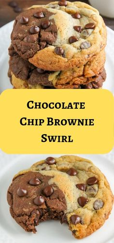 Our best cookie recipes have earned top ratings from home cooks far and wide. These are the must-bakes that belong in your recipe box! Chocolate Chip Brownies, Chocolate Cookies, Cookie Swirl C, Keto Friendly Chocolate, M M Cookies, Best Cookie Recipes, Creative Food, Recipe Box, Banana Bread