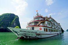Best Price on Halong Huong Hai Sealife Cruise From Vietnam Tonkin Travel Bai Tu Long Bay, Ha Long Bay, Cambodia Itinerary, Best Cruise, Hai, Vietnam Travel, World Heritage Sites, Kayaking, Trip Advisor