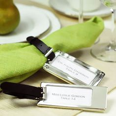 What a great idea for a Travel themed wedding favor