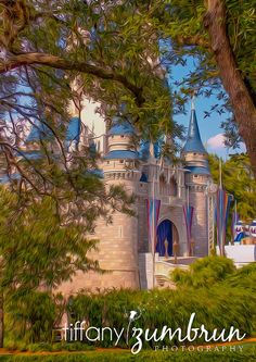 And heres my other one!! More to come:) 5x7 Cinderella Castle Fine Art Photograph by tiffanyzumbrun, $10.00