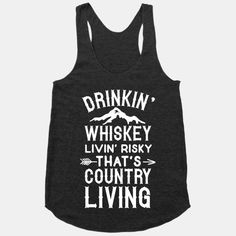 There's only one right way of living and that's country livin'. Get together with friends around a campfire cowboy style and drink whiskey till the sun sets. If you're a country lovin' American, this awesome country shirt is perfect for you.