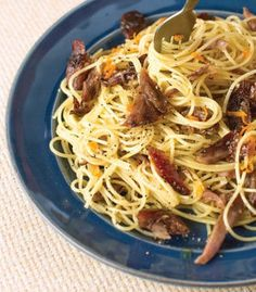 Confit of Duck with Lemon Pasta: Confit of Duck with Pasta