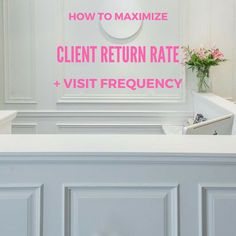 To every beauty business owner's detriment many clients extend time between scheduled appointments due to busy schedules and desire to stretch the dollar. By implementing a pre-booking strategy you can maximize the return rate and visit frequency of your clients. The key is to reward clients for returning to the salon before they even leave it.