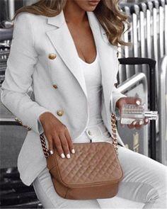 Trend Fashion, Suit Fashion, Fashion Women, Work Fashion, Fashion Online, Cheap Fashion, Urban Fashion, Fashion Design, Mantel Trenchcoat