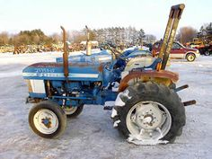 Ford 1910 tractor salvaged for used parts. This unit is available at All States Ag Parts in Black Creek, WI. Call 877-530-2010 parts. Unit ID#: EQ-25434. The photo depicts the equipment in the condition it arrived at our salvage yard. Parts shown may or may not still be available. http://www.TractorPartsASAP.com