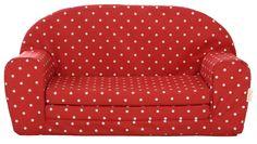 Gepetto uitklapbare rode sofa