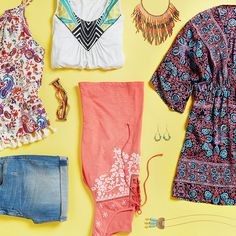 Get 'em while they're hot! Summer's latest trends speak to bohemian summers of yesteryear. Ask your Stylist for embroidery, bohemian prints, crochet & fringe if you are looking to try a new trend.