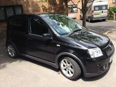 Fiat Panda 100HP - Black - 2008 - 60k miles