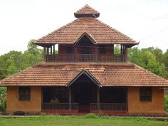 Super house sketch architecture home ideas Kerala Architecture, Vernacular Architecture, Sketch Architecture, Kerala Traditional House, Traditional House Plans, Traditional Homes, Village House Design, Kerala House Design, Home Room Design