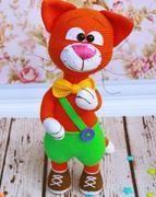 pantolonlu kedi - Açıklamalı Modellerimiz Crochet Projects, Sewing Projects, Projects To Try, Crochet Toys, Crochet Baby, Knitted Cat, Cat Pattern, Amigurumi Toys, Felt Toys
