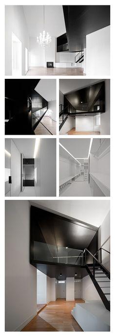 Apartment in  Lisbon, Portugal by Aspa Arquitectos