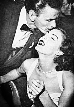 Frank Sinatra and Ava Gardner.