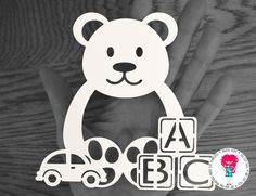 Teddy Bear Papercut Template, SVG / DXF Cutting File for Cricut / Silhouette & PDF Printable For Hand Cutting, Digital Download by DigitalGems on Etsy