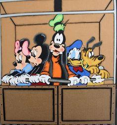 Disney Tower of Terror Premade Scrapbook Pages w Paper Piecings Ssffdeb | eBay