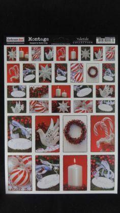 Darkroom Door Yuletide Montage A4 Christmas Photos X2 Cardmaking Scrapbook Craft | eBay