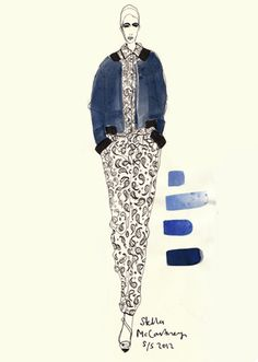 Rosie McGuinness Fashion Illustration
