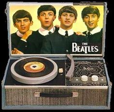 The Beatles record player