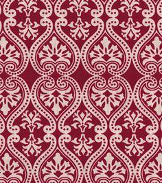 Keepsake Calico Cotton Fabric- Damask Red