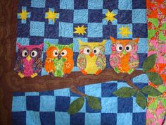 Have you found a location for this owl quilt pattern? Description from quiltwalktalk.blogspot.com.es. I searched for this on bing.com/images