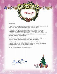 Free Printable Letters From Santa  Elf On Shelf