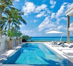 The Dream, Barbados Vacation Rental, Luxury Villa in Caribbean, Pool with View - The Garden villa rental Barbados Villas, Barbados Beaches, Barbados Travel, Spas, Resorts, Dream Beach Houses, Luxury Villa Rentals, Cool Pools, Pool Houses