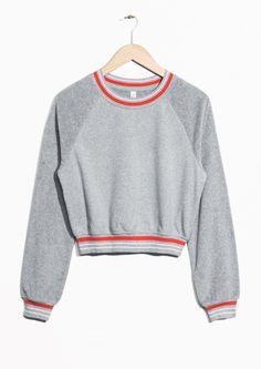 & Other Stories image 1 of Jersey Sweatshirt in Grey
