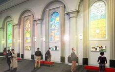 Van Gogh Church. Experience the stories of Vincent's time in Etten-Leur at the Van Gogh Church.