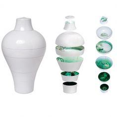Gorgeous Gifts and Interiors » White Ming, Faux Semblant Collection by Ibride