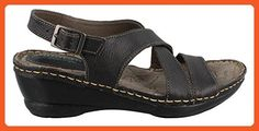Montana Arizona Women US 10 Black Slingback Sandal - Sandals for women (*Amazon Partner-Link)